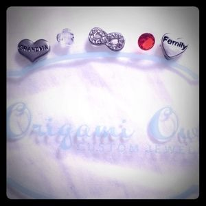 Set of Origami Owl Charms